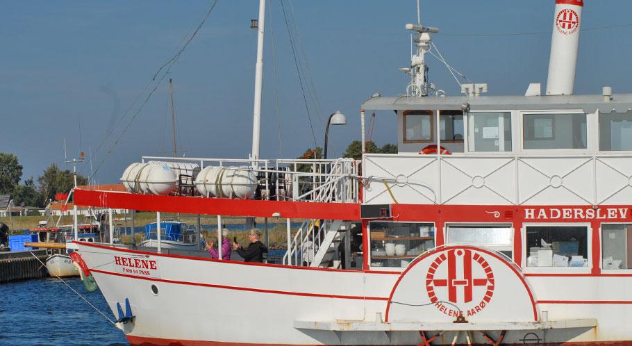 """Dampfer """"Helene"""" unternimmt Ausflugsfahrten vor Haderslev"""