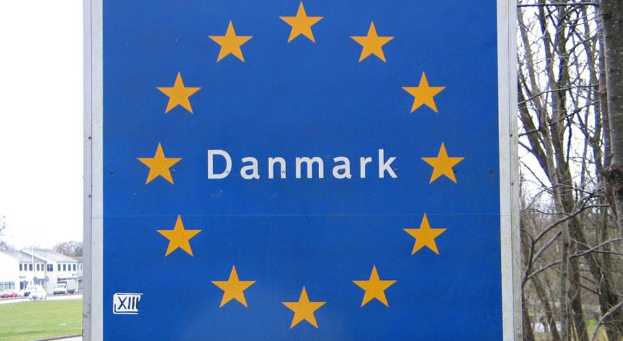 An Dänemarks Grenzen werden Papiere kontrolliert