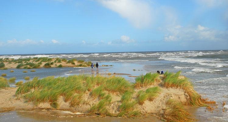 Wanderung zur Landspitze – hier treffen sich Nord- und Ostsee