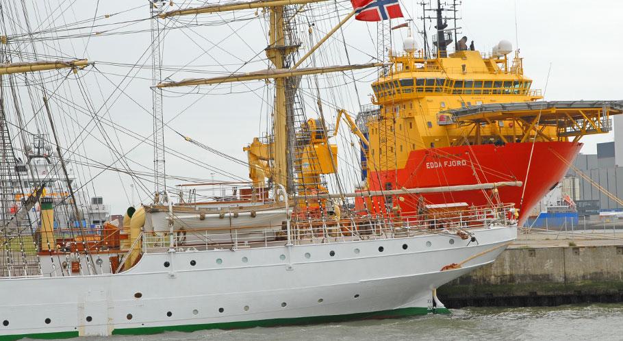 Schifffahrt und neuerdings Offshore-Technik sind Esbjergs Wachstumstreiber