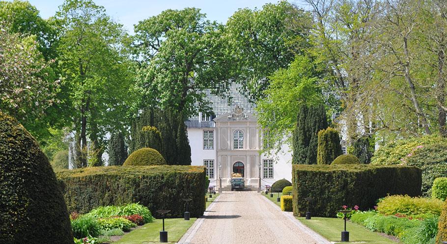 Ausflugsziel Schloss Schackenborg in Møgeltønder war einige Jahre Wohnsitz von Prinz Joachim von Dänemark